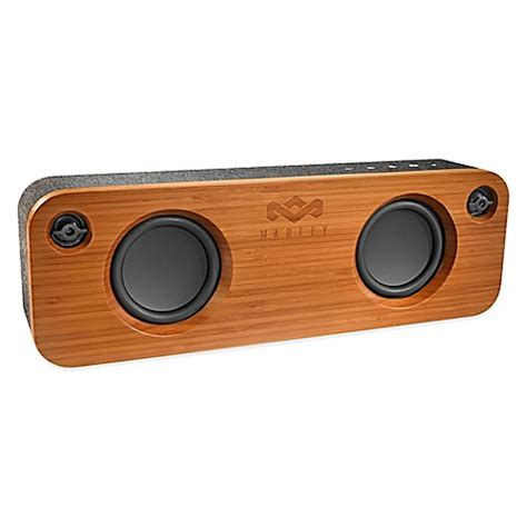 bed bath and beyond speakers house of marley get together bluetooth 174 portable speaker