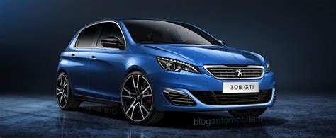 peugeot 308 gti blue peugeot 308 gti the heir of the 309 gti16 blue miami in