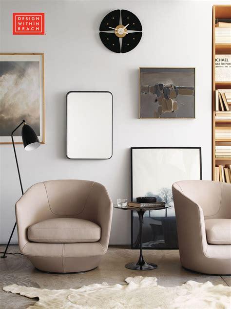 turn swivel chair designed  niels bendtsen design  reach living room swivel