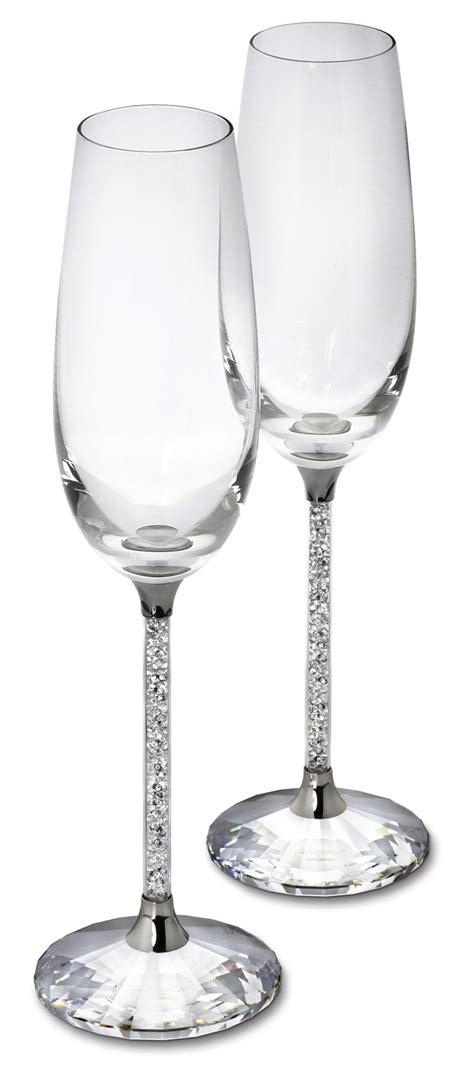 party glasses swarovski crystal 1000 ideas about chagne flutes on pinterest