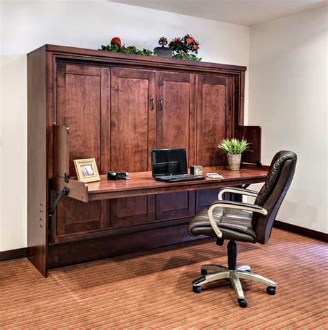 Murphy Bed Office Desk Wall Bed Desk Combo