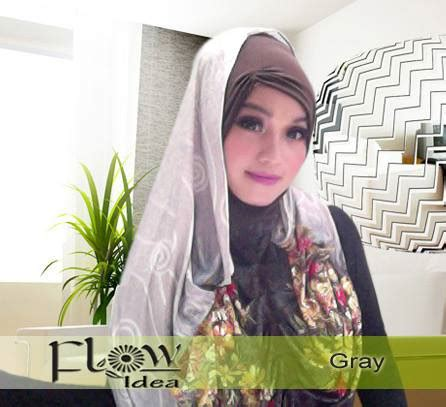 Instant Pad Blossom Ori Ixora jilbab marhooda flower by flow idea original
