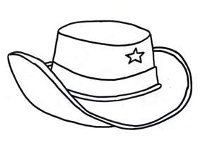 hat coloring page cowboy hat coloring pages coloring home