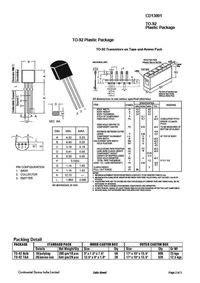 datasheet of transistor 13001 cd13001 datasheet equivalente reemplazo todos los transistores hoja de especificaciones