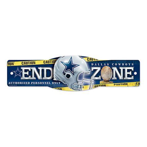 dallas cowboys end zone sign home decor home office