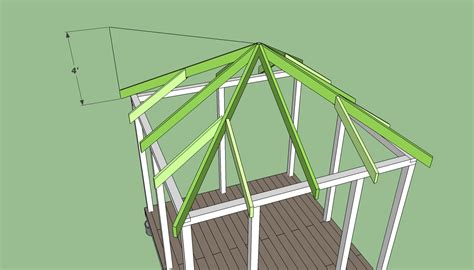 How To Build A Hip Roof How To Build A Gazebo Howtospecialist How To Build