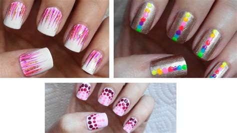 easy nail art pdf easy nail art for beginners 6 youtube