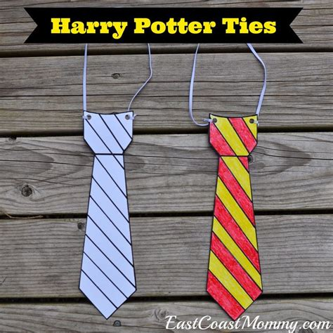 harry potter felt ties 30 best images about harry potter birthday party on