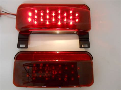Led Rv Cer Trailer Stop Turn Brake Tail Lights