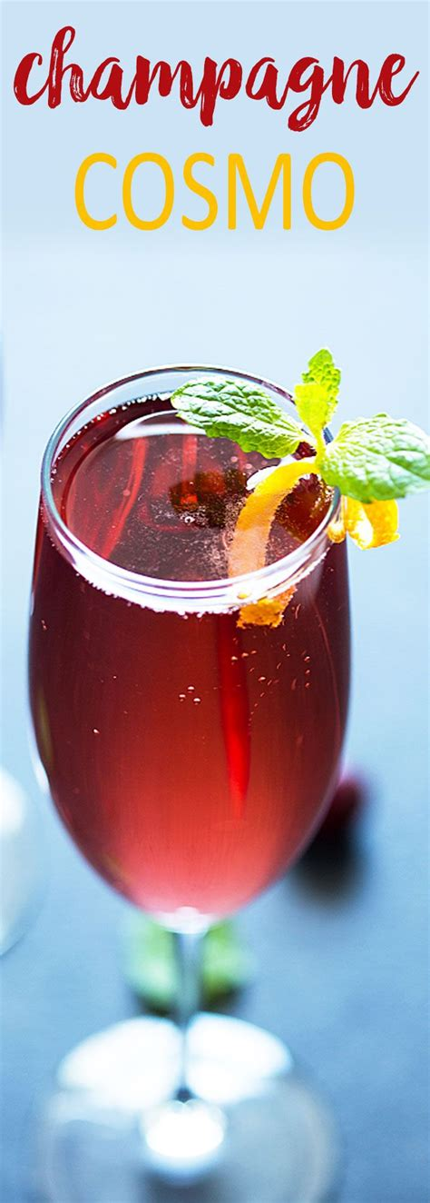 sparkling christmas cosmo cocktail best 25 chagne drinks ideas on chagne punch recipes punch