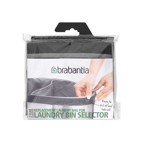 Replacement Laundry Bag 55l Grey Brabantia 174 South Africa Laundry Bag Replacement