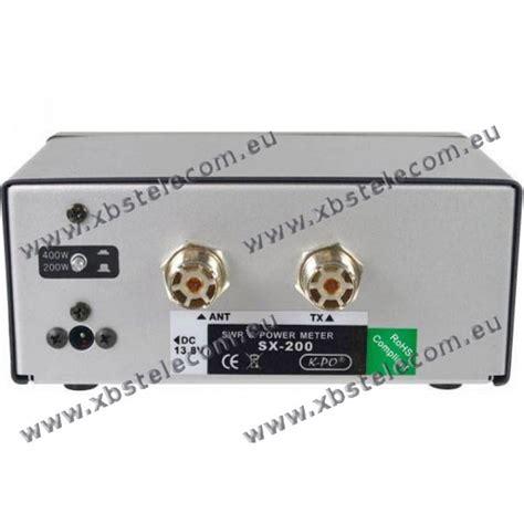 Swr S Sx 401 By Deltakom kpo sx 200 swr pwr 1 8 224 160 mhz 400w xbs telecom