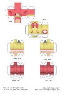 minecraft papercraft skins