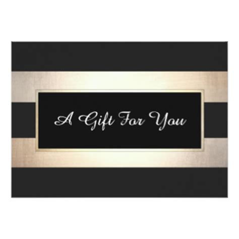 Stripes Gift Card - nail salon certificates gifts on zazzle