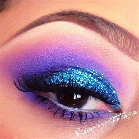 Glitter Eyeshadow teal glitter eyeshadow by n preen me