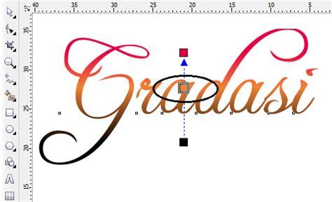 tutorial corel draw gradasi warna membuat warna gradasi pada coreldraw belajar desain grafis