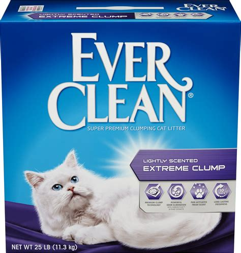 Cat Litter Clumpercat clean lightly scented clump cat litter 25 lb box chewy