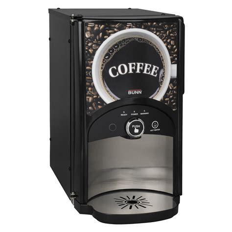 Dispenser Coffee bunn lca 1 lp single liquid coffee dispenser liquibox