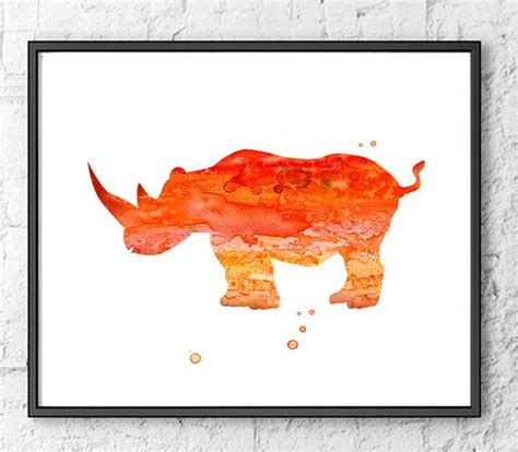 watercolor tattoo dortmund 1000 ideas about rhino on rhino
