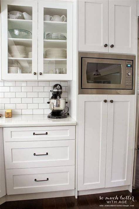 kitchen cabinet microwave built in microwaves pantry and cabinets on pinterest