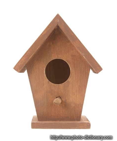 birdhouse photo picture definition at photo dictionary