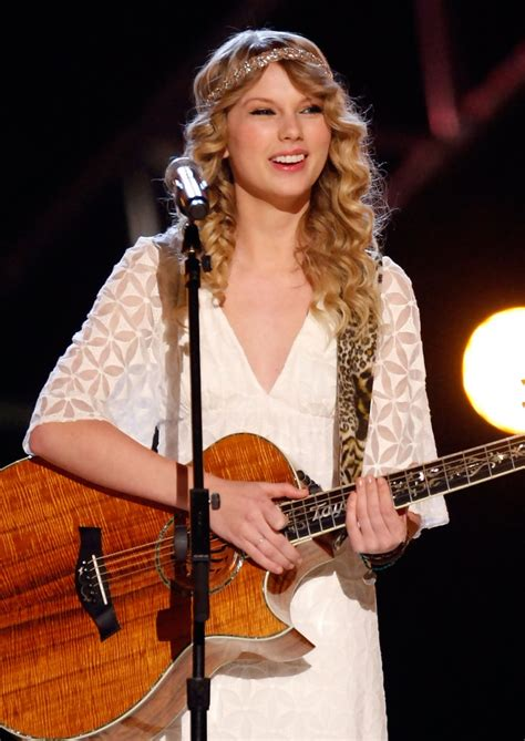 taylor swift first country song taylor swift photos photos academy of country music