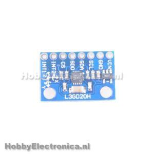 Gy L3gd2dh L3gd20h Module 3 Axis Gyro Carrier With Voltage Regulator 1 sensors