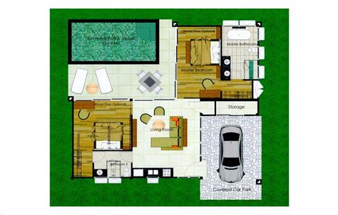 2 bedroom villa floor plans two bedroom premium pool villa for sale in rawai phuket