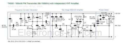 tx  mw fm transmitter