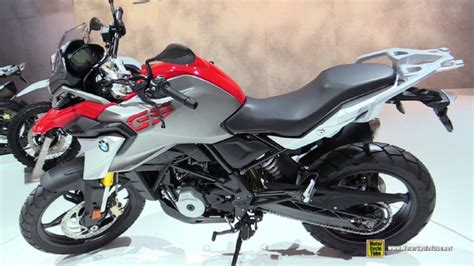 2017 bmw g310 gs at 2016 eicma milan motorcycle exhibition
