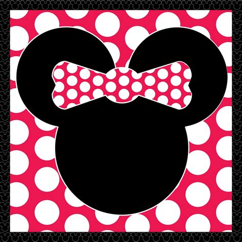 Free Minnie Mouse Birthday Card Template by Minnie Mouse Invitation Printable Template