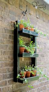 Wall Hanging Planters by Wood Planter For The Wall Diy Friday Sa D 233 Cor Amp Design Blog