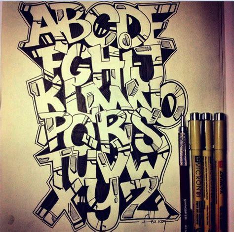 typography a z graffiti alphabet letters graffiti alphabet letter a z