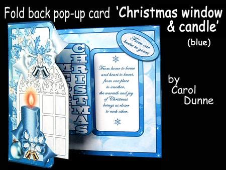 Candle Pop Up Card Template Free by Fbp Window With Candle Blue Cup650653 173
