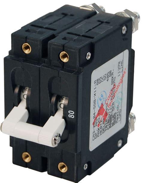 80 Circuit Breaker Price by C Series White Toggle Circuit Breaker Pole 80