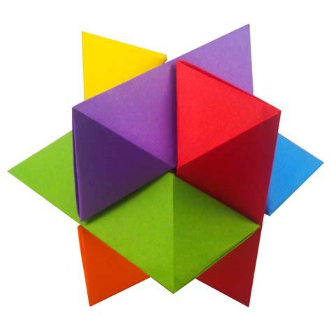 Puzzle Origami - origami burr puzzle froy folded by edward ez