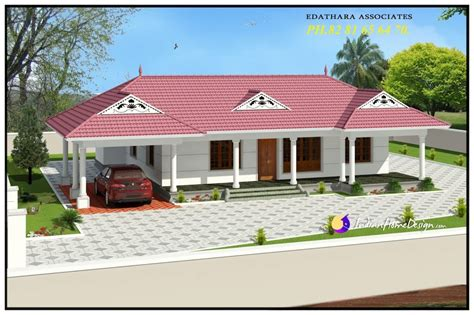 floor plans kerala style houses 1320 sqft traditional single floor kerala home design