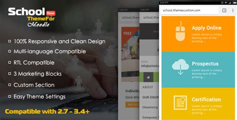 themes moodle nulled free download themeforest school exclusive moodle theme
