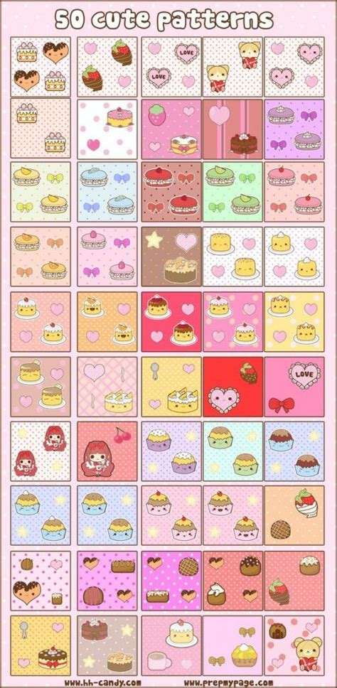 pattern photoshop kawaii free kawaii patterns for photoshop from today s blog post