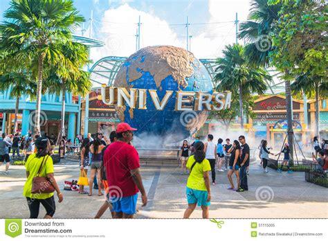 theme park singapore singapore january 13 tourists and theme park visitors