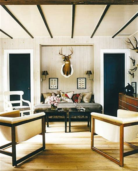 Home Interiors Deer Picture by Why Taxidermy Is A Good Idea Lorri Dyner Design