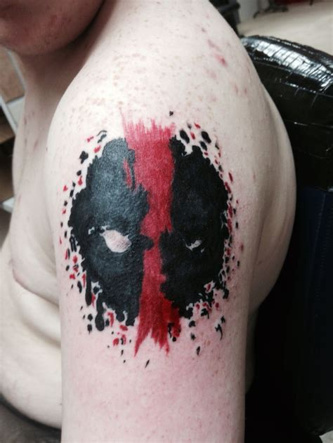 deadpool tattoo deadpool tattoos i ve done deadpool