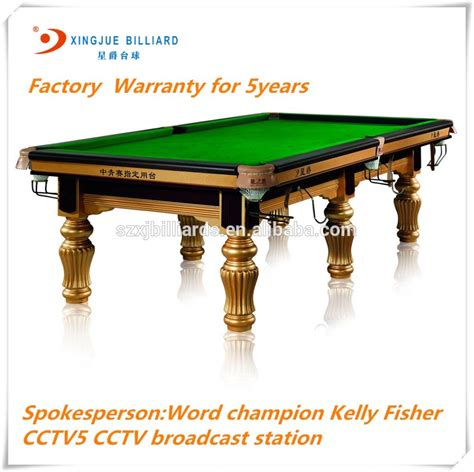 manufacturer top quality slate billiard table pool table