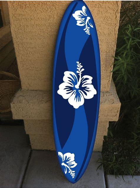 surf decoration wall hanging surf board surfboard decor hawaiian