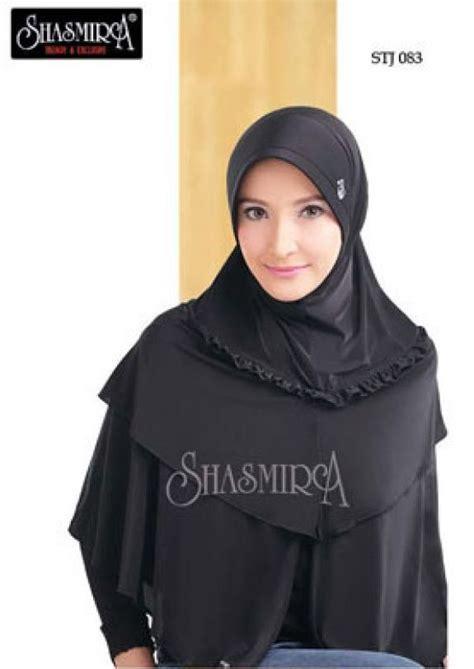 Jilbab Instan Gaby busana muslim konveksi surabaya kerudung obat herbal jilbab instan shasmira