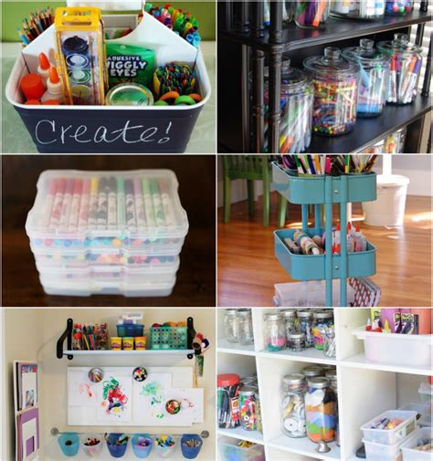 10 best ways to organize art supplies ikea decora