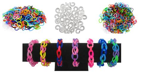 hair accessories to make with loom bands loom bands 600 bands 25 quot s quot clips 3 90 shipped for free