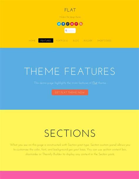 theme chrome flat design top 29 flat design wordpress themes for 2014