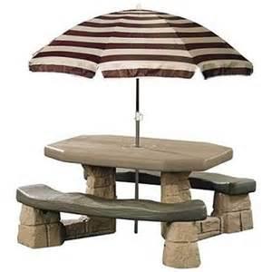 tisch mit sonnenschirm children s picnic table umbrella rainwear