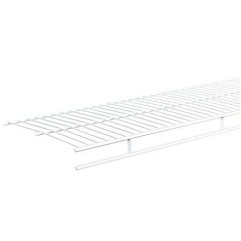Closetmaid Ventilated Shelving Closetmaid Shelf And Rod 6 Ft X 12 In Ventilated Wire